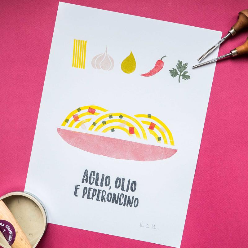 stampa-gastronomica-aglio-olio-peperoncino