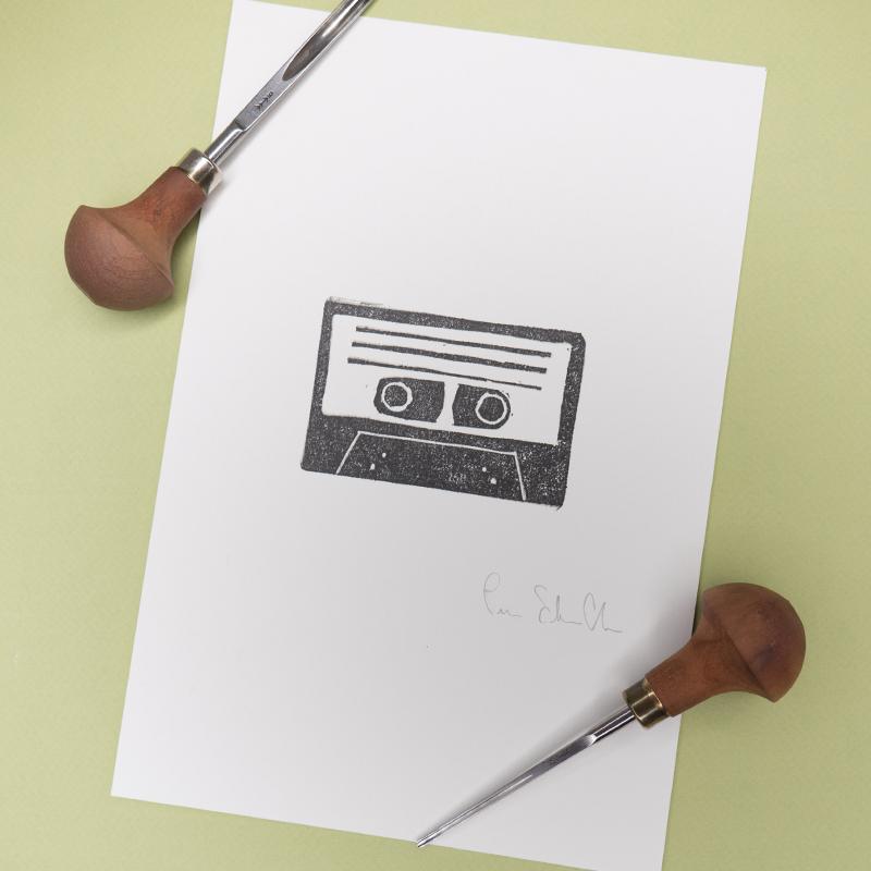 stampa-audiocassetta